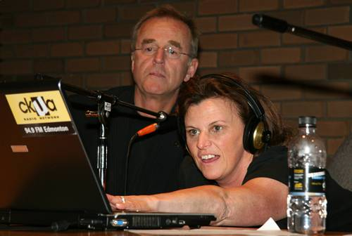 Terry David Mulligan and Allison Brock