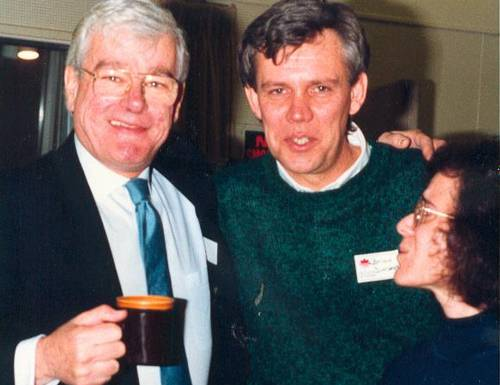 Tommy Banks with Brian Dunsmore and Monica Miller